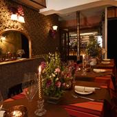 特別な日のディナーに相応しい、キュートな美食空間