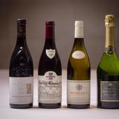ペアリングのほかハーフグラスにも対応するワイン