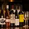 お酒は有機農法でつくられたBIOワインを多数ラインナップ