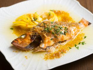 にんにくとレモン香る『キトキト鮮魚のグリル 広島産のレモン』