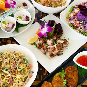 南国気分満喫『リゾート女子会プラン』創作沖縄料理&飲み放題