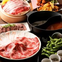 お肉、お魚料理など様々に。自慢の熱々もつ鍋付きの贅沢なご宴会に!飲み会・忘年会にも♪