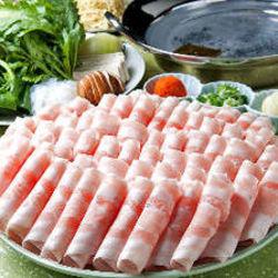 ラムしゃぶと道産豚のしゃぶしゃぶ、旬の刺身や料理長こだわりのお料理を一度に楽しめるコースです!