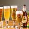 常時3種類の樽生ビールや、人気のイタリアビールに注目