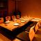 7タイプの個室席は多彩なシーンで活用できる、くつろぎ空間。
