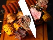 肉本来の美味さを大胆に『ブラジリアン「シュラスコ」』