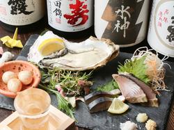 4種の選べるお鍋をメインに、様々な逸品をご用意◎「牡蠣の女王」など、一品料理もお楽しみいただけます◎