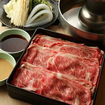 【120分食べ放題】《牛+国産豚》6種類から選べるお鍋♪