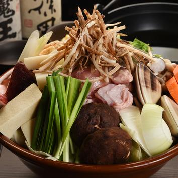 【お料理のみ】桜・行司コース ~ちゃんこ鍋と逸品料理~