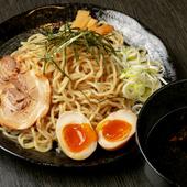 麺をじっくり味わいたい向きには『魚介ブラックつけ麺』