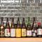 日本酒や焼酎、ワインなど種類豊富なドリンク