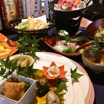 ◆お得に味わえる平日限定宴会コース 4500円