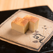 シンプルな料理だからこそ、熟練の技が要求される奥深い一品の『江戸前のカステラたまご』