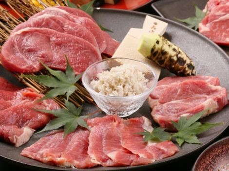 北海道産羊肉お任せ4種盛り合わせ