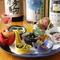 日本酒好きな人も大満足の品揃え。和食とのハーモニーを楽しんで