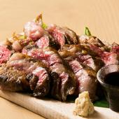 1ポンド=450gの一枚肉を豪快に味わうことができる『でっかいどうポンドステーキ(4~5人前)』