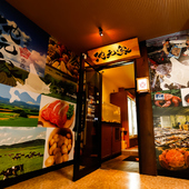 豊富な北海道の味覚を青森で満喫