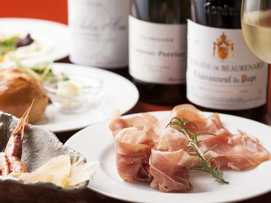 高品質のワインを堪能。お気に入りの一本がきっと見つかる『フランスワイン』