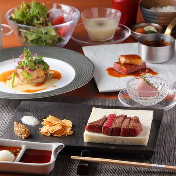 2月◆鉄板ステーキ鐡 ディナーコース 楓(かえで) 12,000円