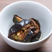アンチョビの旨味とオレガノの香りが楽しめる『茄子とズッキーニのオイルマリネ』