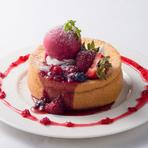 Berry Berryスフレパンケーキ