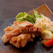 播州のモモ肉を特製のレシピで漬け込みました。