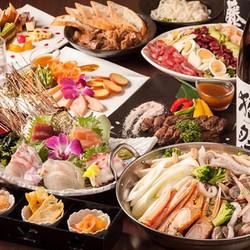 「錦爽どりの特選もも串焼き」もお楽しみいただける贅沢な宴会コースです。