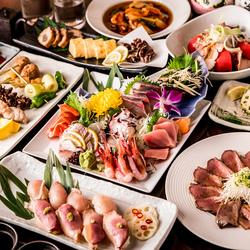 当店自慢の愛知県産ブランド地鶏、錦爽どりなど、ふんだんに使用した贅沢肉三昧のコースとなっております!