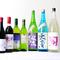 ご注文いただいたコース料理に合うワインや日本酒をご提案