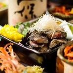 プレミアム飲み放題全種をサービス。さらに5名様以上のご予約で日本酒ボトルサービス致します!