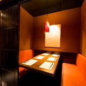 全室個室! プライベート感溢れる個室は100名様も収容可能