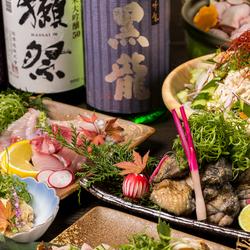 ※数量限定となりますのでお気を付けください 旬の海鮮料理に寒ブリのみぞれ鍋がついたプランとなります。