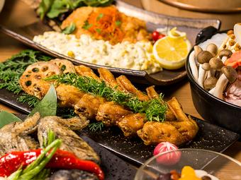 浜松町・大門の宴会にも人気の高いコースです。