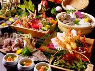 博多水炊き鍋や炭炙り焼きなど、おすすめ料理を堪能できる『椿コース』