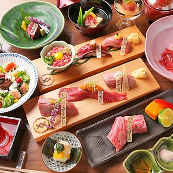 松阪牛肉寿司 10000円コース