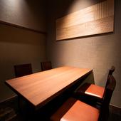 半個室あり◎プライベート空間で楽しむ薪火料理