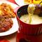 逸品料理を具材として楽しめる飲放題付チーズフォンデュコース。
