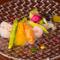 彩りも美しく『旬を詰め込んだ庭園風サラダ』