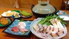 歓送迎会は新鮮な桜鯛を鯛出汁でしゃぶしゃぶ!