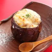 米茄子味噌チーズ焼き