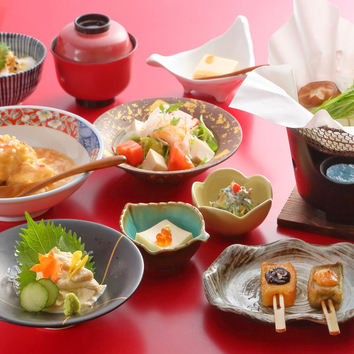 【観月会席 ~湯葉と豆富料理コース~】