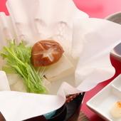 大豆の豊かな風味をダイレクトに感じられる『有機豆腐の湯豆腐』