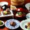 日本の文化に触れながらゆったりと食事を楽しむ客室