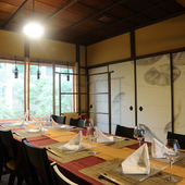 接待やハレの日に。大正の面影を残した風情あふれる完全個室