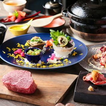神戸牛ランプディナーコース【150g】