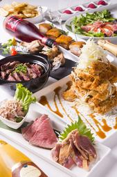 超お得な贅沢コース料理です!! ご利用いただいたお客様、高確率でリピートしていただいております。