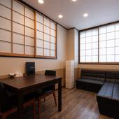 さまざまなシチュエーションに活躍する個室空間