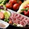 季節の新鮮野菜と自家製ソースが絶品『世羅野菜のバーニャカウダー 温かいオリジナルソースにつけて』
