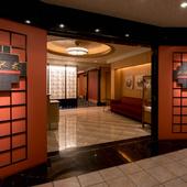 ホテルオークラ福岡地下1階。モダンな大人の空間