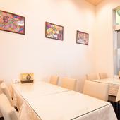 会食や宴会におすすめのテーブル席